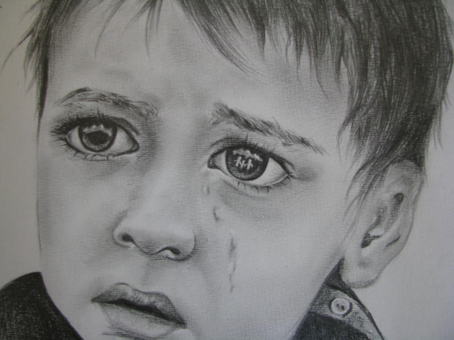 The Gallery For --u0026gt; Boy Crying Sketch