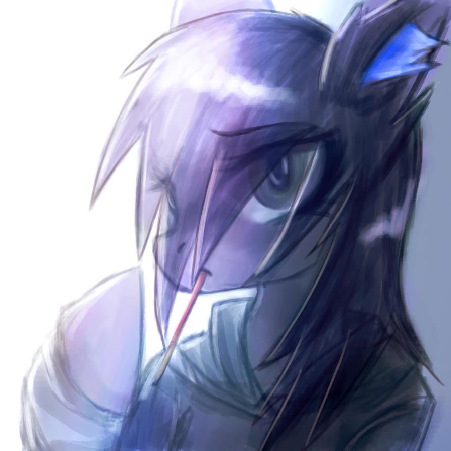 Stygian Melody Sketch by CrutonArt