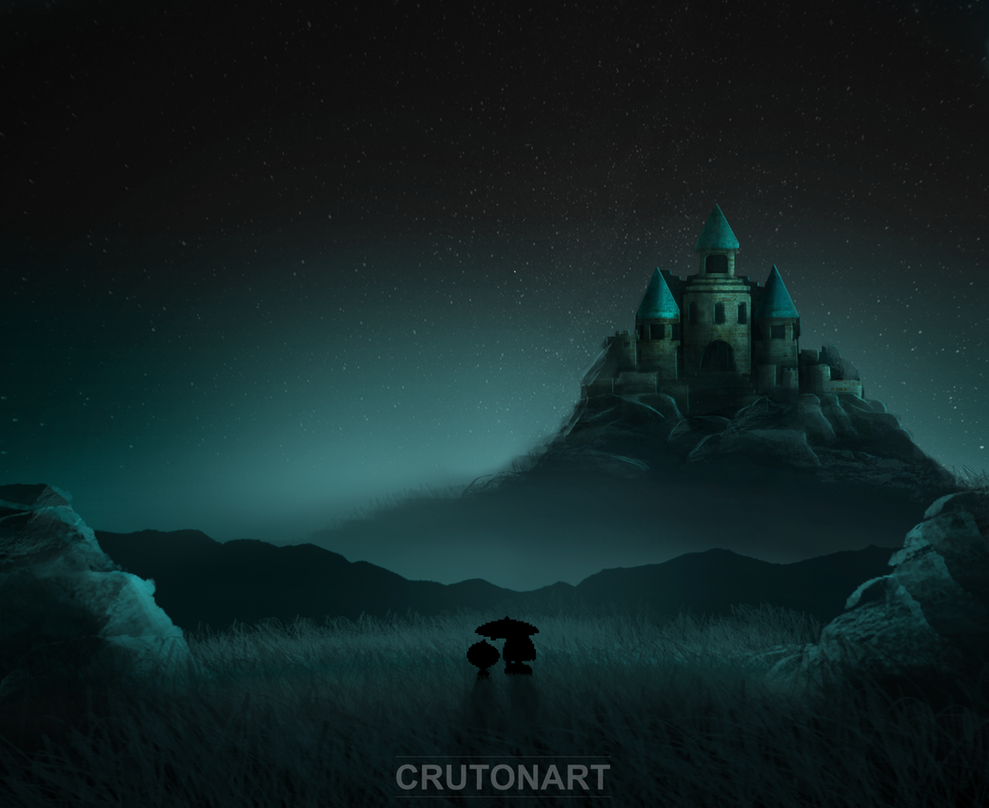 Stay Determined by CrutonArt