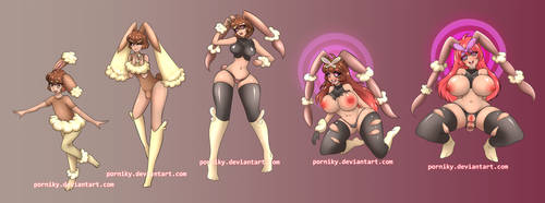 Lopunny Evolution by porniky