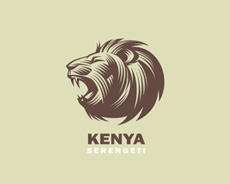 Logo Lion by Galitsyn
