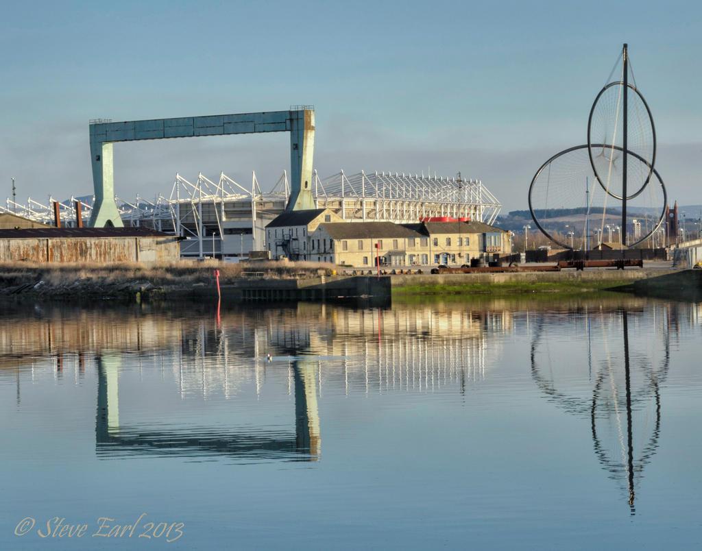 Riverside Stadium Crane By Steveearl On DeviantArt