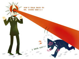 'YOU LITTLE BRAT' by TotenVeloren