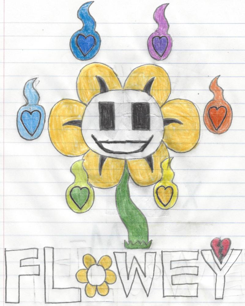 Flowey by EthanBurnesMKDM