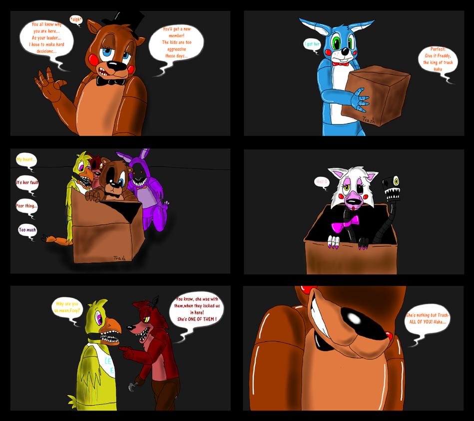 Fnaf 2 comics reanimators