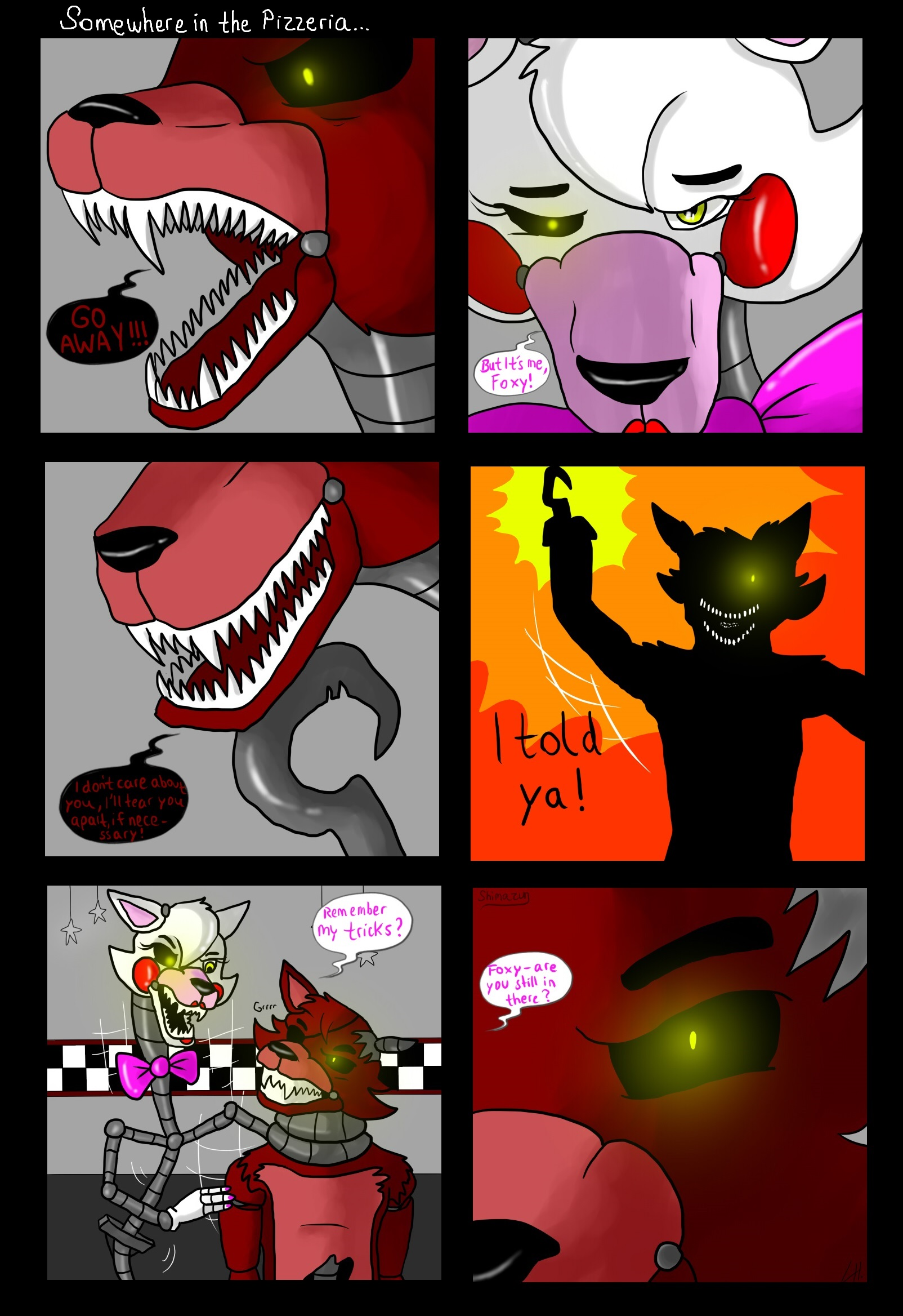 Fnaf comic good and bad ones part 18 by shimazun on deviantart