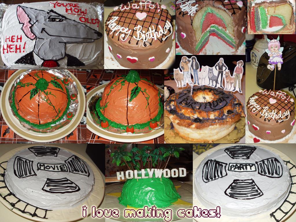 Cake cake and more cake by Myrcury-Art