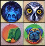 Wearable Art: Animals by Myrcury-Art