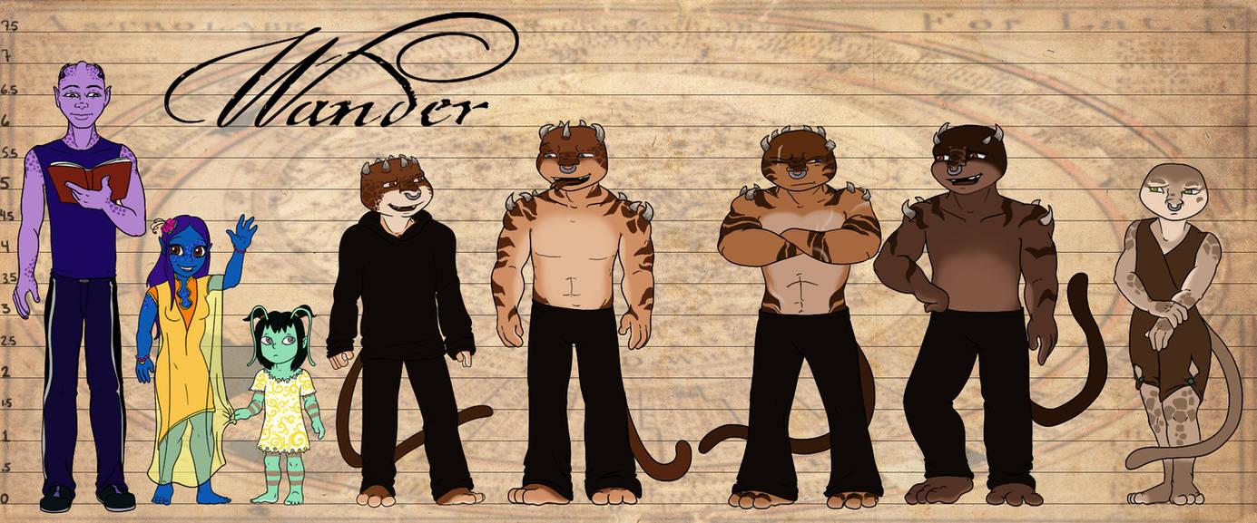 Wander crew height chart