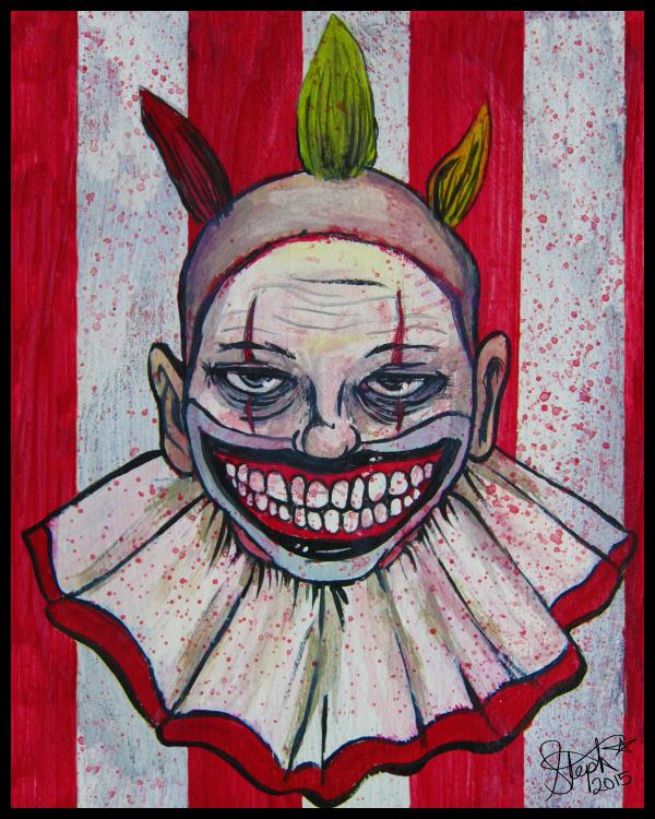 I'm a good clown... by Myrcury-Art