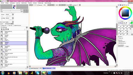 Work in progress - Jadyda Graham - new OC