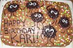 Food Art Soot Sprite cake