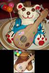 Country Bear Cake