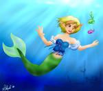 Accalia the mermaid