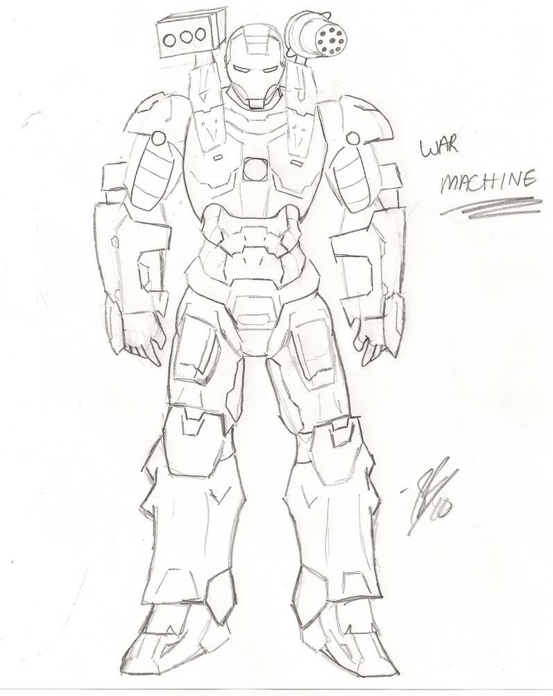 iron man 2 war machine by sfritts10 on deviantart