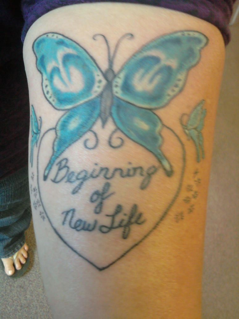 New Beginning Tattoo Designs