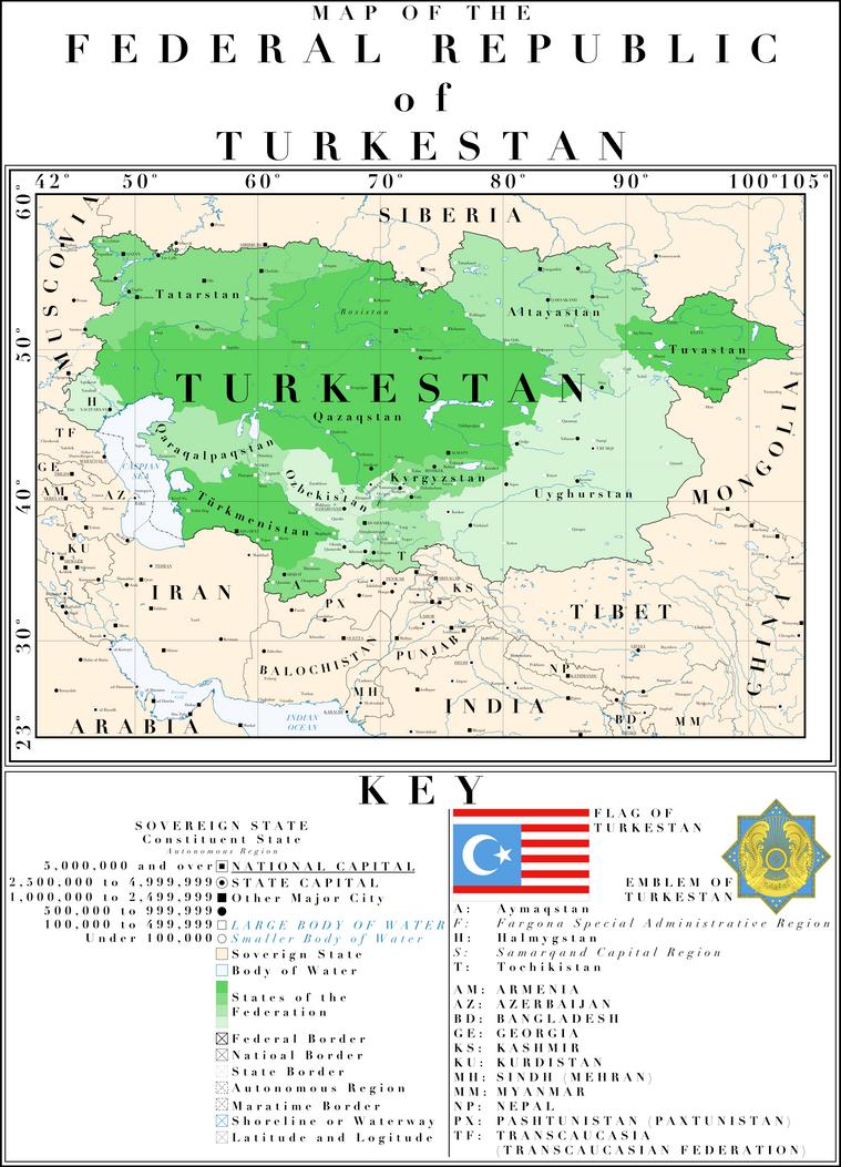 The Heart Of Asia A Greater Turkestan By Houseofhesse On Deviantart