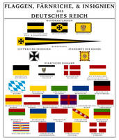 Flags of Greater Germany by HouseOfHesse