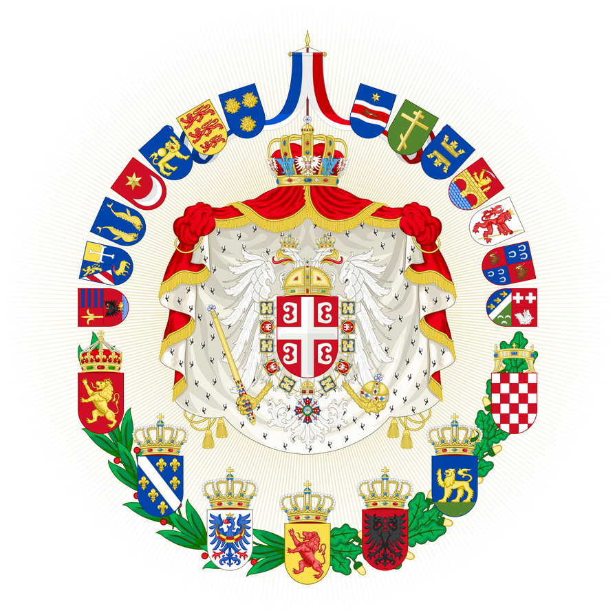 Greater coat of arms of the empire of yugoslavia by houseofhesse buycottarizona