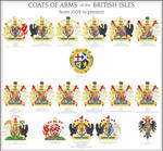 Coats of Arms of Habsburg Britain
