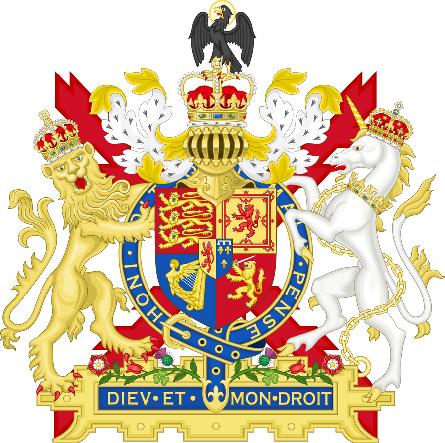 Coat of arms of the united kingdom by houseofhesse on deviantart coat of arms of the united kingdom by houseofhesse buycottarizona