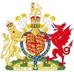 Coat of Arms of the Kingdom of England and Wales