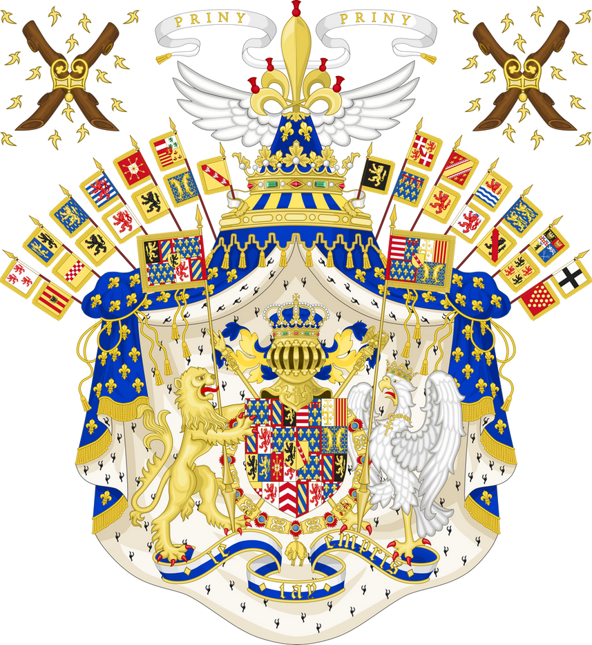 Grand Coat of Arms of the Kingdom of Lotharingia by