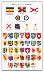 Emblems of the Kingdom of Lotharingia by HouseOfHesse