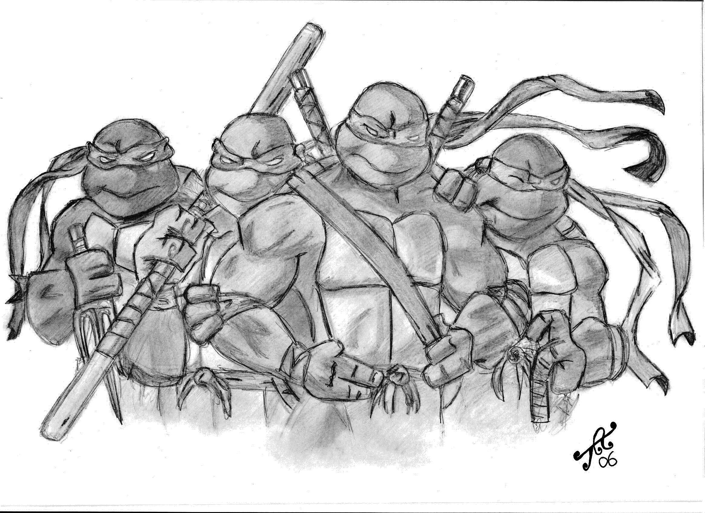 Ninja Turtle Leonardo Drawings HD Photos Gallery
