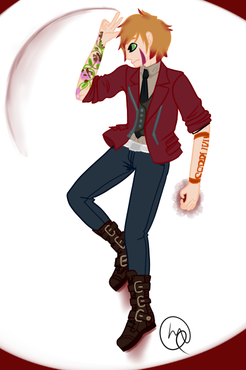 Y'er a Wizard, Daisuke - Not GIF by WiltingDaisy