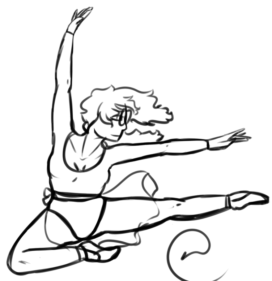 Pose 5 - Theodora Ballet by WiltingDaisy