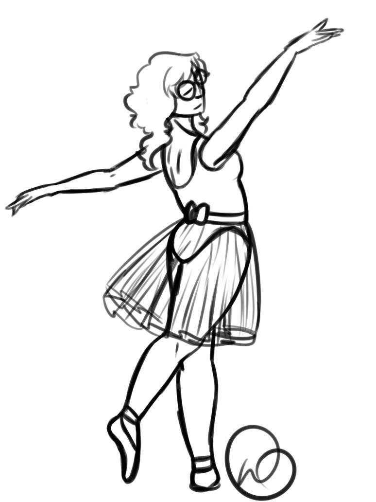 Pose 7 - Theodora Ballet by WiltingDaisy