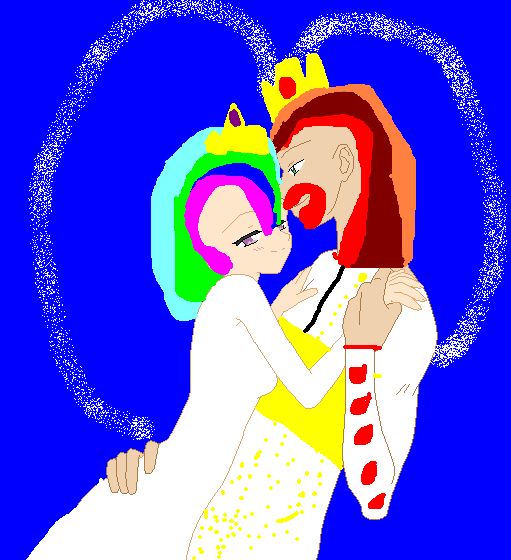 MLP the princess  Celestia  and the prince  Solaris