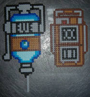 Bioshock Beadsprites by SplicedUp