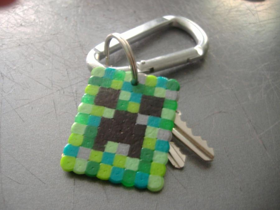 Creeper Keychain by SplicedUp