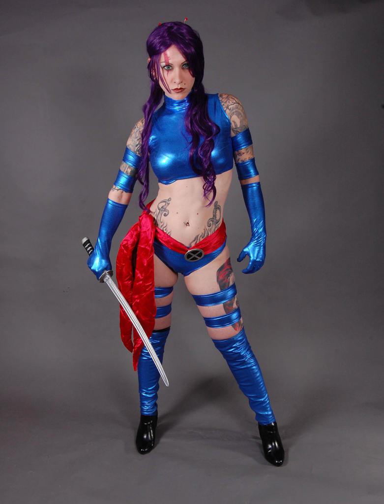 Psylocke 2 by MLeighS