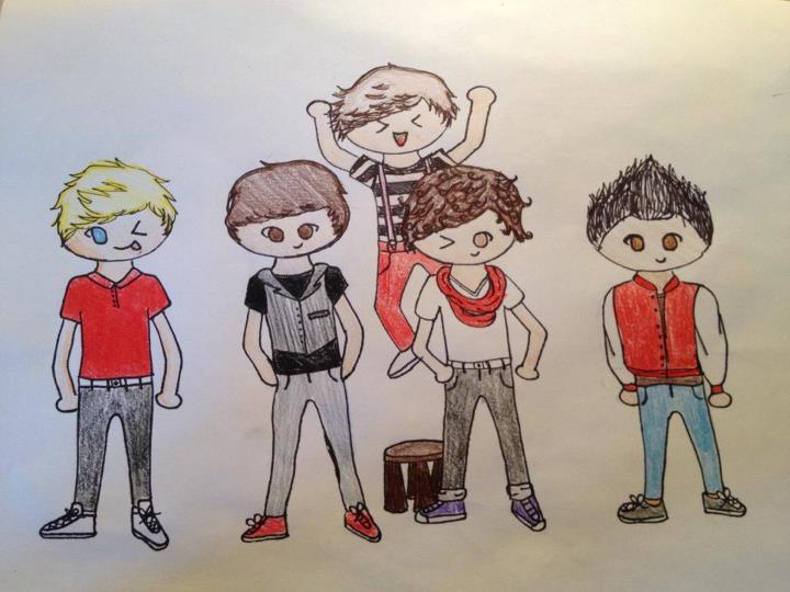 One Direction Fan Art by Alovablesmile