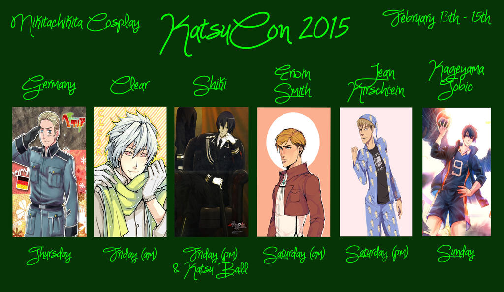 KatsuCon 2015 by nikitachikita005