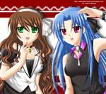 AT: Haruna and Iza -Mouse Drawn-