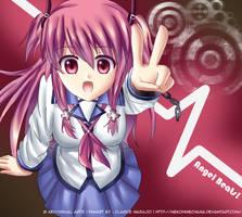 Yui -Angel Beats!- drawing by RiNCO-XV
