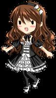 Arizelle Gothic Lolita Chibi by RiNCO-XV