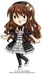 Arizelle Gothic Lolita Chibi
