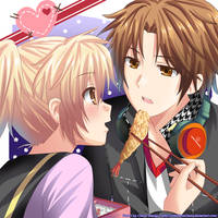 AT: Yuruya and Yosuke Hanamura by RiNCO-XV
