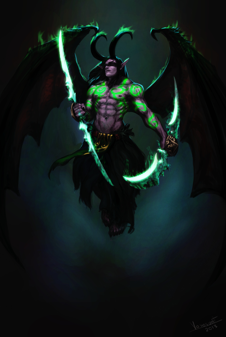 Illidan by Vovosunt on DeviantArt