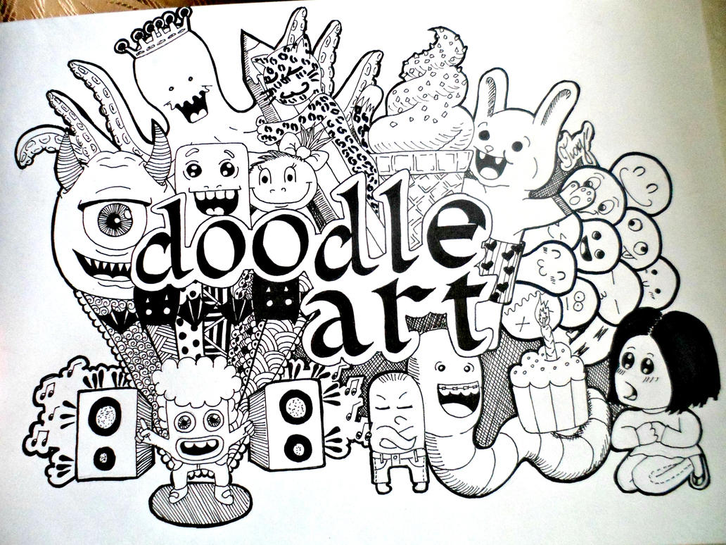 Pin Doodle Art On Pinterest