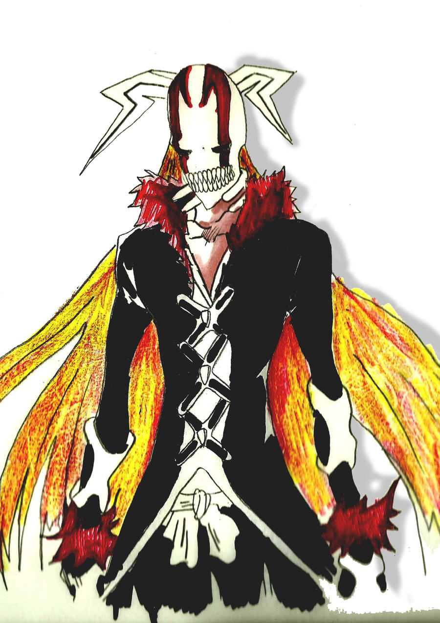 Hollow Ichigo new bankai by Bleach47 on DeviantArt
