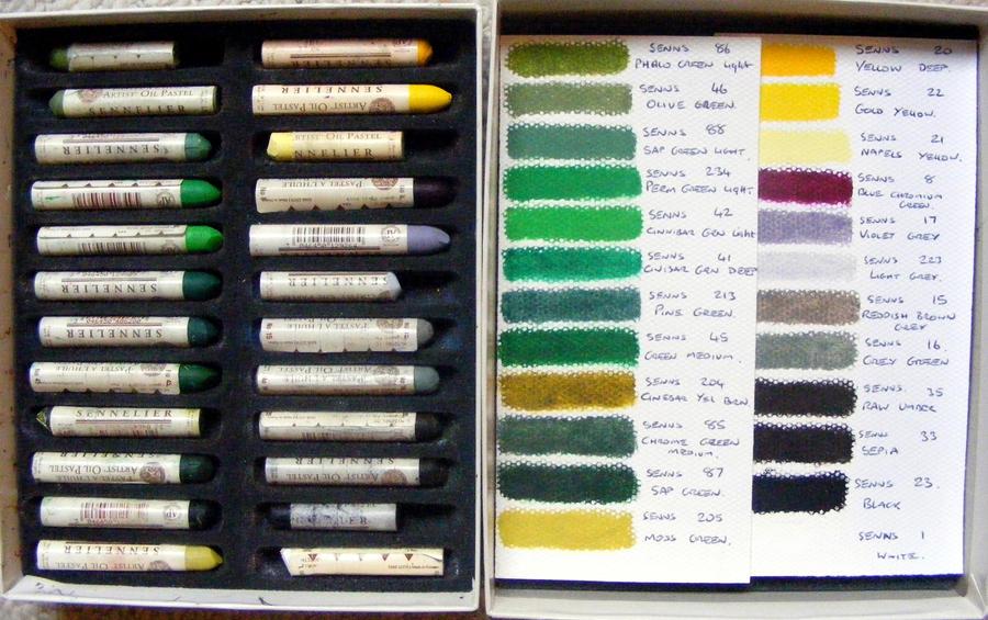 Sennelier Oil Pastels By Devonhants On Deviantart