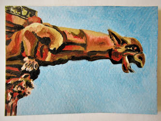 Gargoyle by devonhants