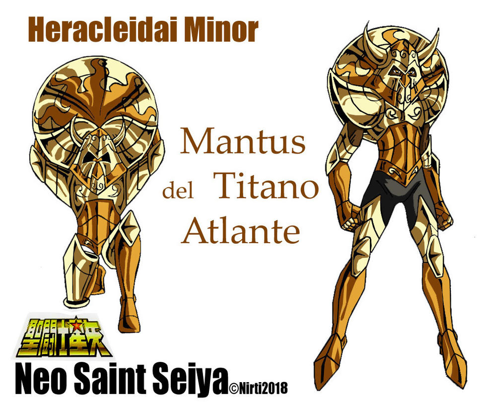 Mantus  del  Titano Atlante by nirti