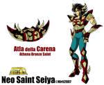 Saint Seiya Carena saint